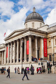 De national gallery, londen — Stockfoto