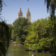 Boating in Central Park — Stockfoto