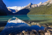 Reflections in Lake Louise — Stock Photo