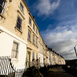 Georgian Terraced Townhouses — Stock Photo