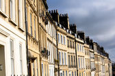 Georgian Terrace in Bath, UK — Stock Photo