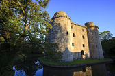 Castle and moat, Somerset, UK — Stock Photo