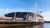 Millennium Stadium Cardiff — Stock Photo