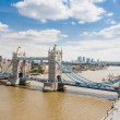 Tower Bridge and London Skyline — Stok fotoğraf