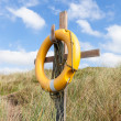 Stock Photo: Yellow Lifebuoy