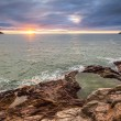 Stock Photo: Cornish Sunset View