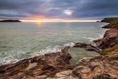Cornish Sunset View — Stock Photo