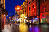 Chinatown London Night Time — Stock Photo