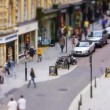 Tilt Shift High Street Time Lapse — Stock Video