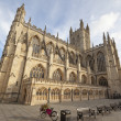 Bath Abbey Wide Angle — Stock Photo