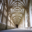 Cloisters at Wells Cathedral — Stock Photo