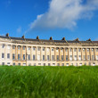 Stock Photo: Low angle view of Royal Crescent, Bath