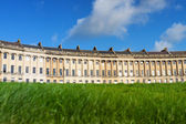 Low angle view of Royal Crescent, Bath — Stock Photo