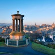 Edinburgh from Castle Hill — Stock Photo #35188951