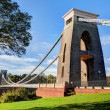 Daytime View of the Clifton Suspension Bridge in Bristol — Stock Photo