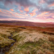 Stock Photo: Yorkshire Dales At Sunset