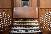 Church Organ Console — Stok fotoğraf