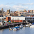 Panoramic View of Bristol from the Harbour — Stock Photo