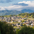 Stock Photo: Rural Settlement of Nakatsugawin Gifu Prefecture, Japan.