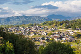 Rural Settlement of Nakatsugawa in Gifu Prefecture, Japan. — Stock Photo