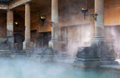 Roman Baths in Bath, UK — Stock Photo