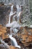 Tangle Falls in Winter — Stock Photo