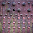 Pink Metal Texture — Stock Photo