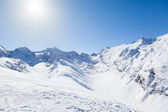 Austrian Mountain View — Stockfoto