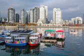 Aquabus Ferry at False Creek, Vancouver — Stock Photo