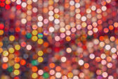 Colourful Defocussed Lights — Stock Photo