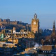 Edinburgh Morning Skyline — Stock Photo