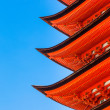 Detail of Eaves on a Japanese Pagoda — Stock Photo #47962635