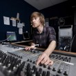 Man using a Sound Mixing Desk — Stock Photo #47962849