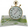 3D Time is money — Stock Photo #21815069