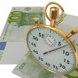 3D Time is money — Stock Photo #21815081