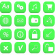 web icons set — Stockfoto