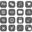 Web icons set — Stock fotografie