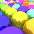 Colorful glossy balls — Stock Photo #21968777