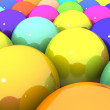Colorful glossy balls — Stock Photo #21968797