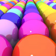 Colorful glossy balls — Stock Photo #21968809