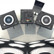 DJ, Equipment — Foto Stock