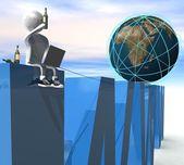 Internet-konzept — Stockfoto