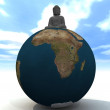 World Budda — Stock Photo