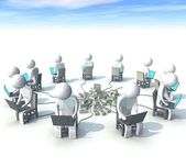 Computer-programmierer — Stockfoto