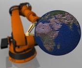 机器人 — 图库照片