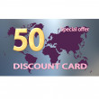 Stock Photo: Set of discount card templates
