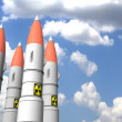 Royalty-Free Stock Photo: Kit missiles