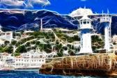 Latarnia morska — Zdjęcie stockowe