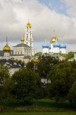 Trinity Lavra of St. Sergius. Panorama — Stock Photo