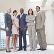 Royalty-Free Stock Photo: Interracial Men & Women Business Team